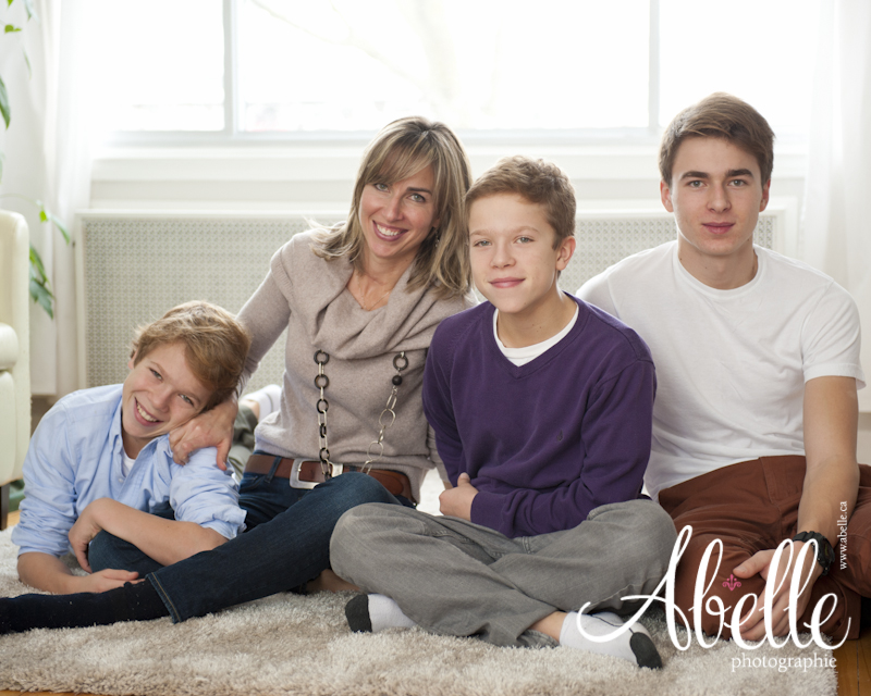 Montreal family portrait photography: Abelle photographie