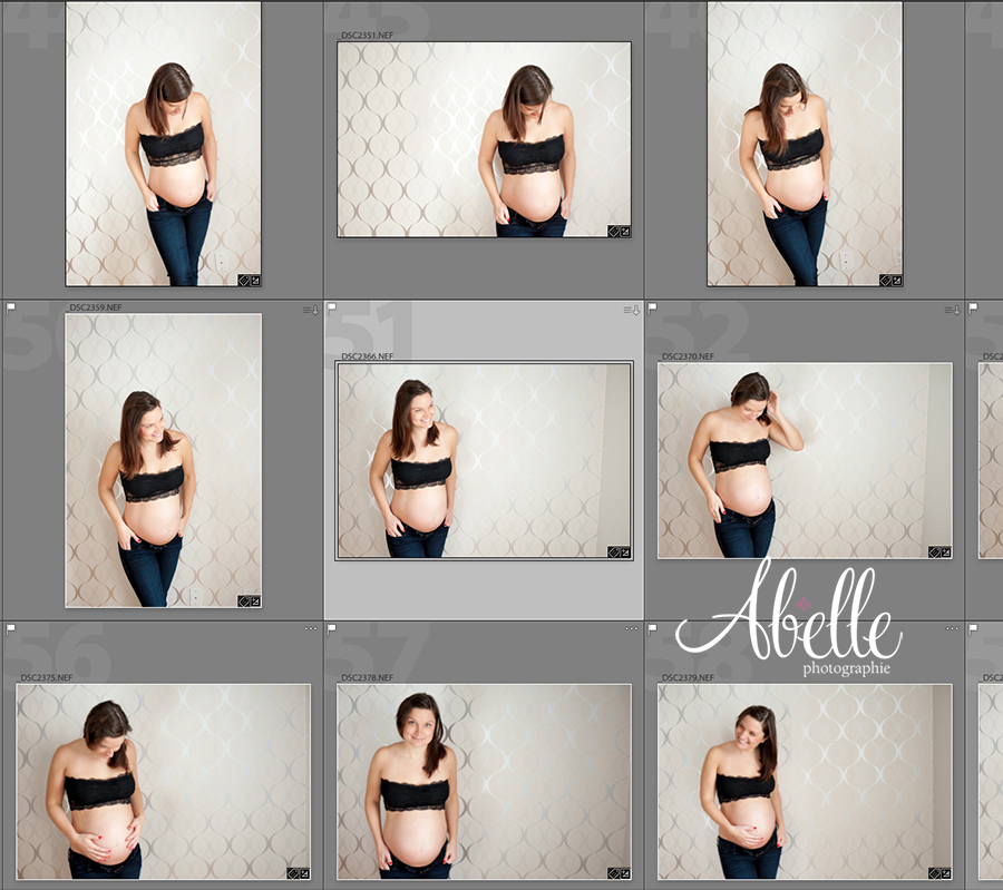 Sexy pregnant maternity photography session : Abelle photographie