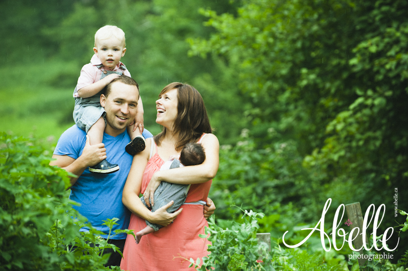 Family photography in the Eastern Townships