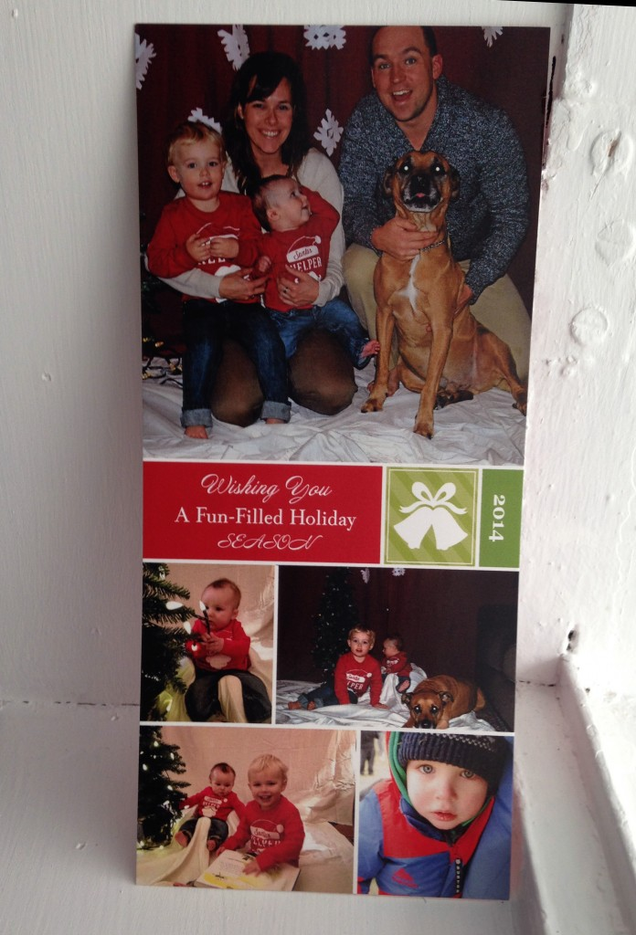 Christmas card sent to Abelle photographie