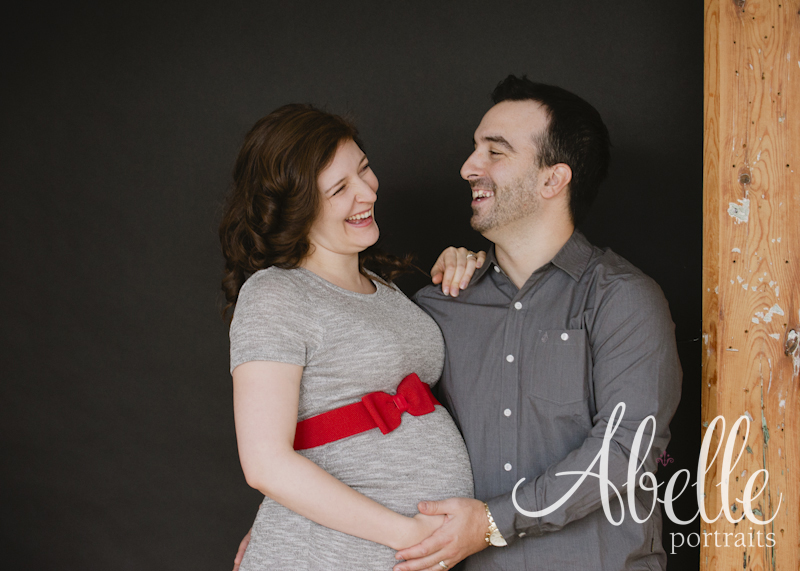 Abelle portrait maternité