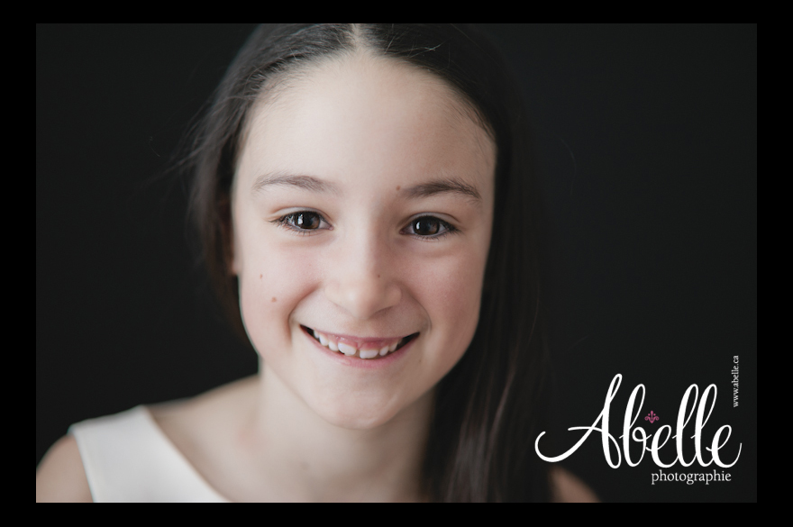 Abelle family portrait photography studio: Portraits of a child