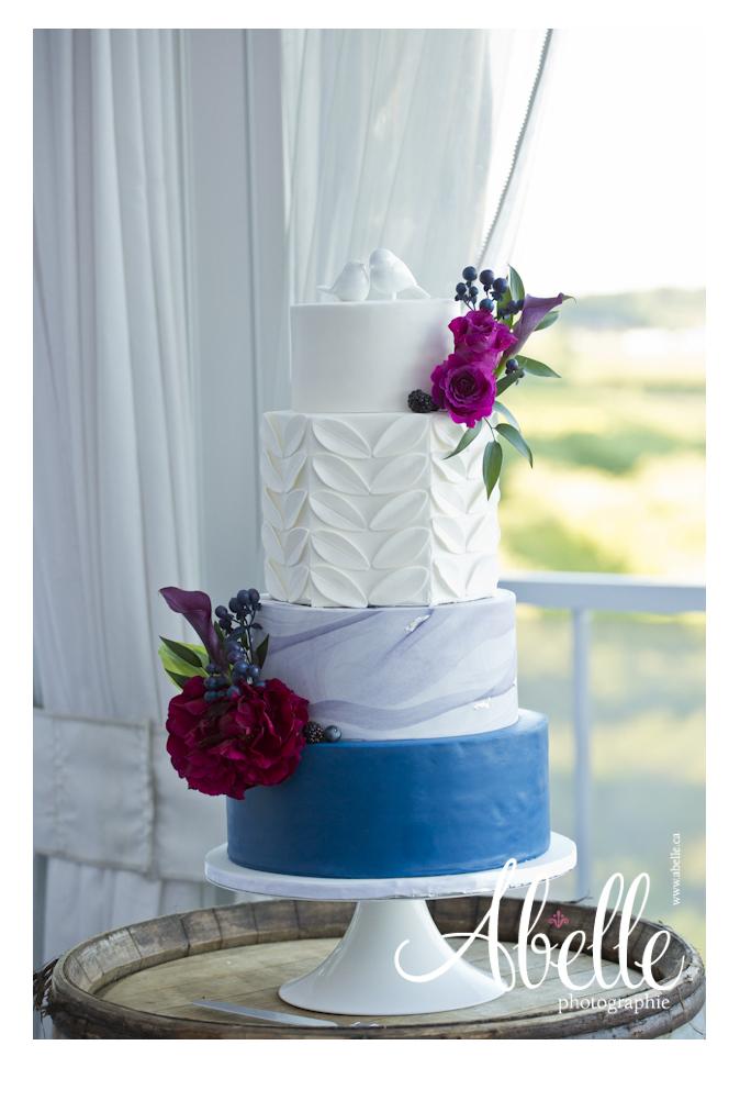 Abelle Wedding cake photography