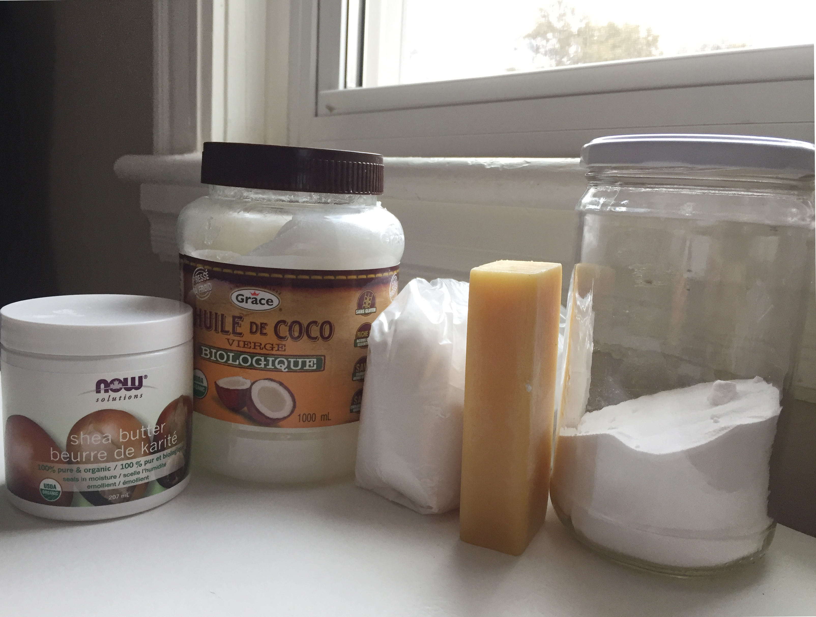 ingredients for diy deodorant