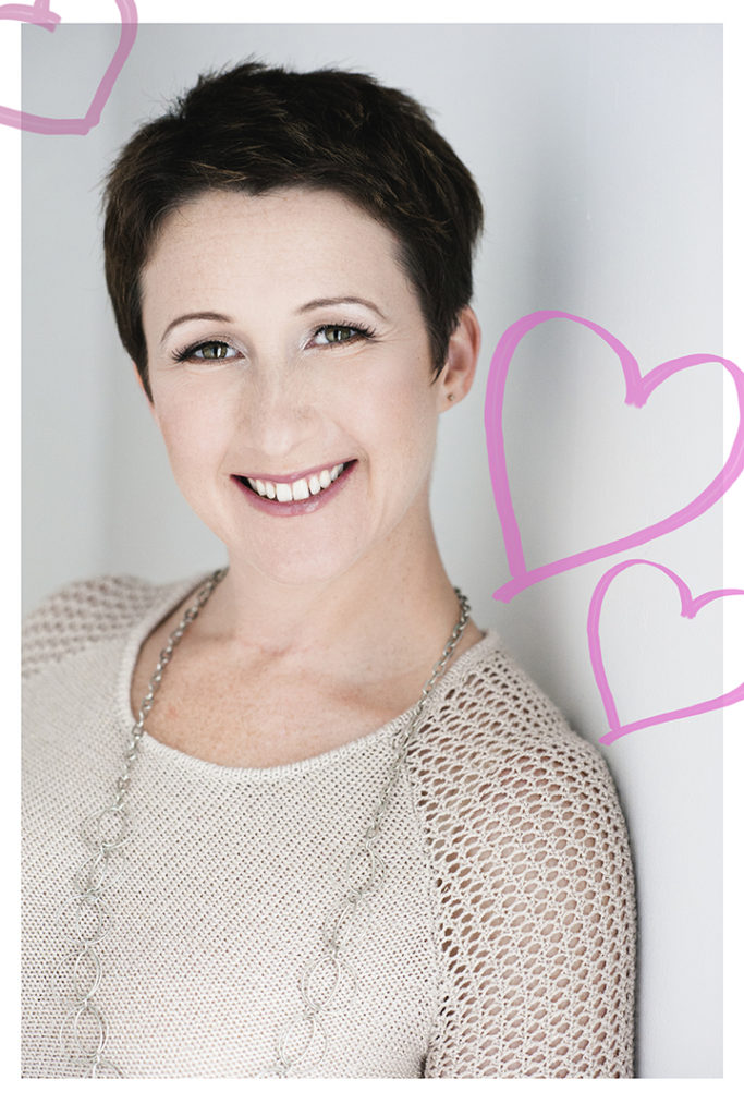 Fall in love with yourself: portrait promotion for Valentine's Day by Abelle.
